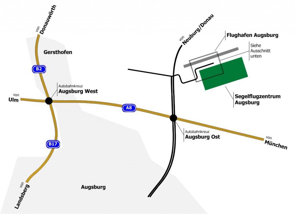 AnfahrtFlugplatz